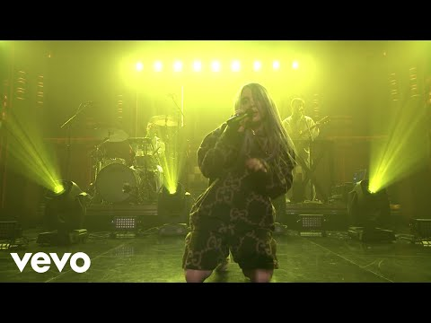Billie Eilish - Bellyache (Live On The Tonight Show Starring