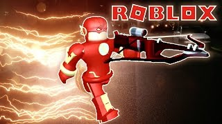 PLAYING AS THE FLASH IN ROBLOX