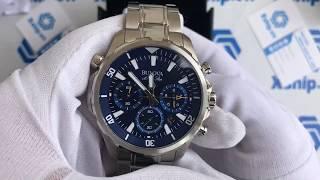 54081925b3b Xship.vn  Bulova 96B256 Men s 43mm Marine Star Stainless Steel Chronograph  Watch ...