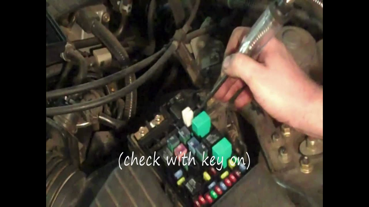 Integra Fuse Diagram Wiring Schematic Honda Blower Motor Diagnosis Youtube