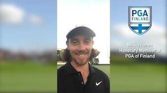 Koostevideo Mikko Ilosen urasta –Ilonen valittiin tänään Suomen PGA:n kunniajäseneksi