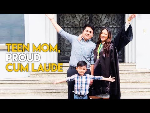 Teen mom graduates cum laude