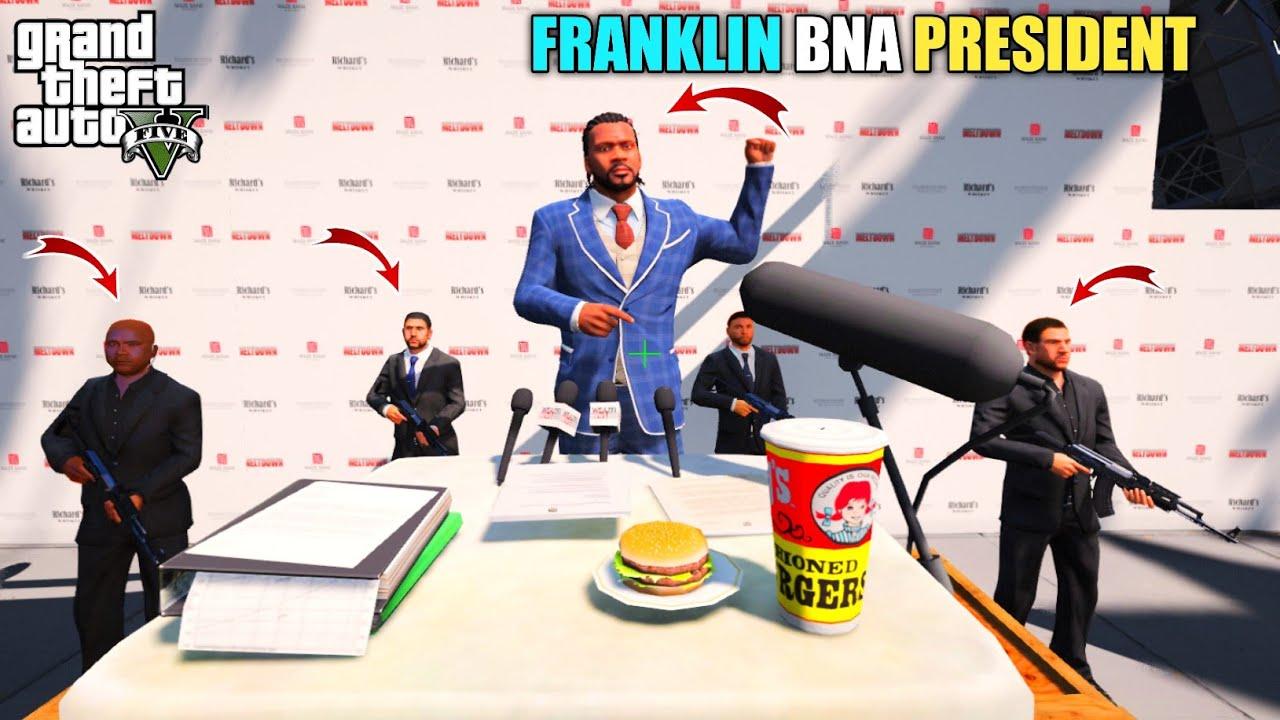GTA 5 : FRANKLIN KO PRESIDENT BNANE KI PLANNING || BB GAMING
