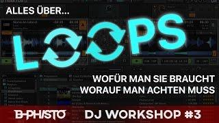 LOOP BASICS // DJ Tutorial #3 (Serato, Traktor, Pioneer, Virtual DJ.. deutsch)