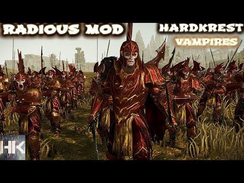 Видео: Total War Warhammer 2 Radious mod - прохождение - Vampires - Very Hard =6= Король мстителей