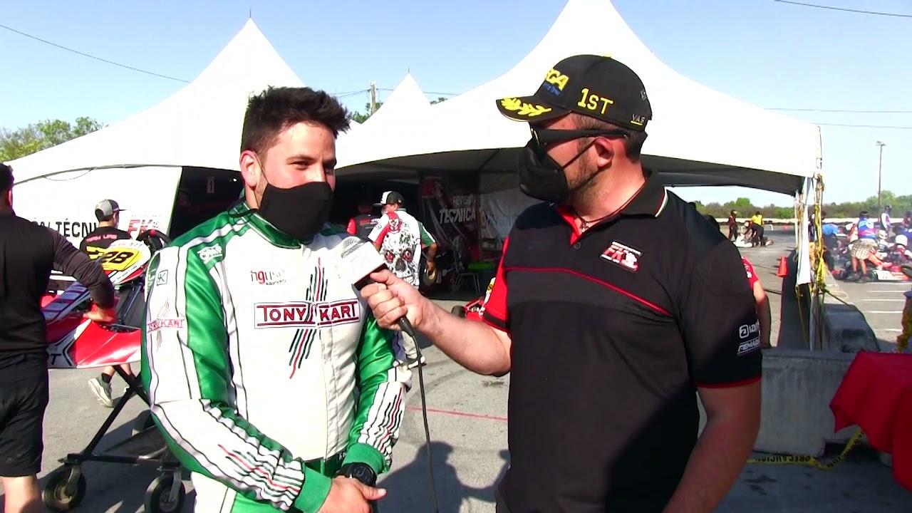 Entrevista Fidencio Guzmán Fecha 2 Fórmula Karts