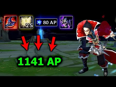 Rock3tt - 1141 AP Vladimir Gameplay S8 | Insane Carry | League of Legends
