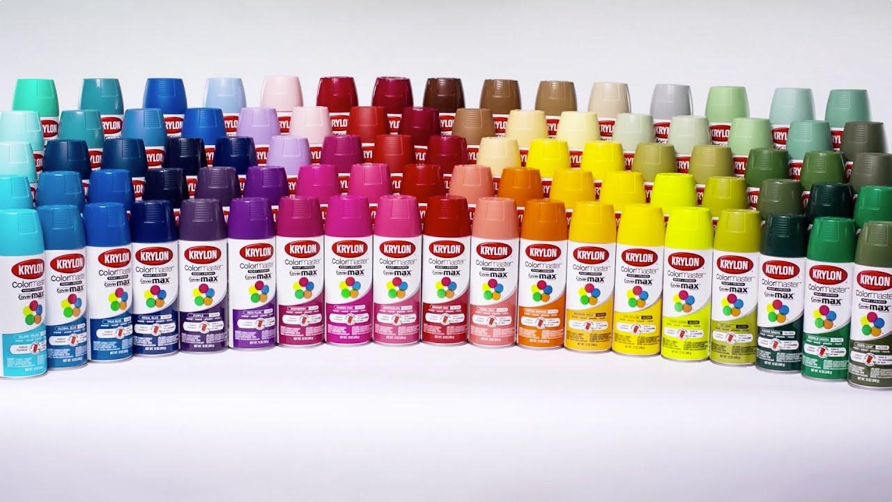 Krylon Colormaster Paint Primer Featuring Covermax Technology Performance Recap You