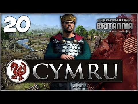 THE WAR FOR ENGLAND BEGINS! Total War Saga: Thrones of Britannia - Cymru Campaign #20