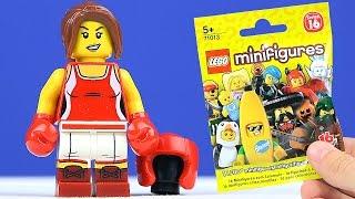 Кьюбс и LEGO Минифигурки 16 Серия!