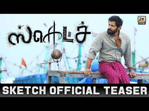 Sketch - Official Teaser Review | Chiyaan...