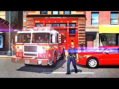 Grand Theft Auto IV - FDLC/FDNY - 55th day with the fire department! #TBT