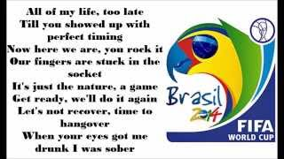 Shakira Dare La La La - Brazil 2014 Lyrics