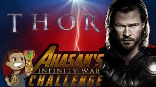THOR REVIEW LIVE STREAM (Movie 4 of 18) #InfinityWarChallenge