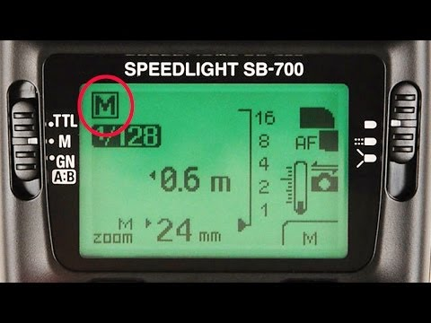 How to Work Speedlights in Manual When Using Off Camera Flash