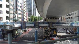 国道246号渋谷駅東口歩道橋架替工事の建設状況(2018年9月23日) thumbnail