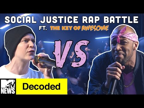 Social Justice Rap Battle! ft. The Key of Awesome | Decoded | MTV News