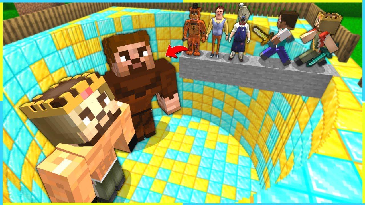 ÖLÜRSEN KASLI ARDA VE RÜZGAR ÇUKURUNA DÜŞERSİN! 😱 - Minecraft