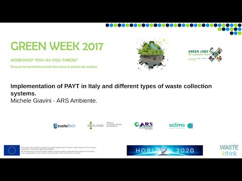 Implementation of PAYT in Italy and different types of waste collection systems