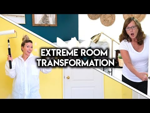 extreme-room-makeover!-**diy-transformation**