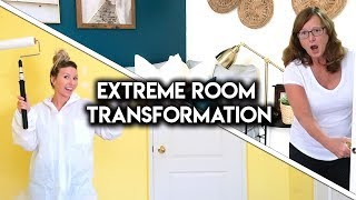 EXTREME ROOM MAKEOVER! **DIY TRANSFORMATION**