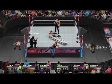 6-man Ladder match