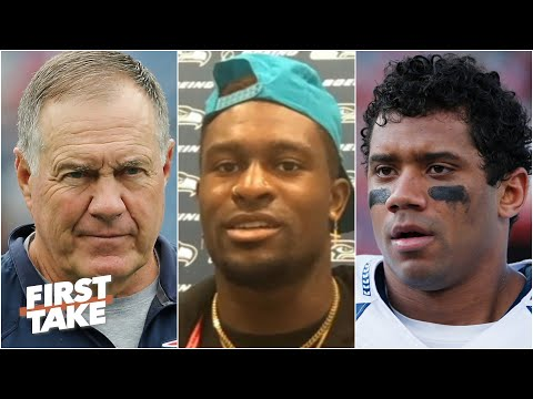 Seahawks' DK Metcalf reacts to Bill Belichick saying Russell Wilson is underrated | First Take