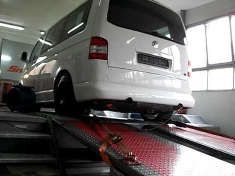 Vw Bus T5 Mit Porsche 996 Turbo Motor Th Auto Auf Dem