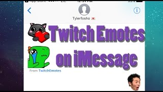 How To: Twitch App imessage Update