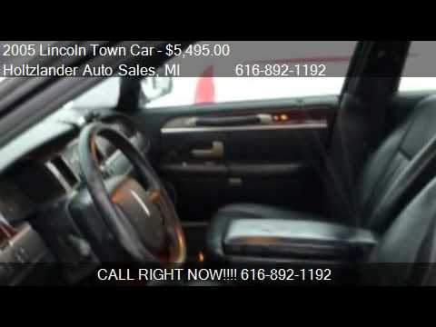 2005 Lincoln Town Car Signature L For Sale In Allendale Mi Youtube