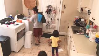 Time Lapse of a boring SAHM's day with 4 kids!