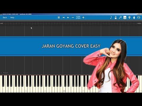 Jaran Goyang Cover Easy Tutorial Piano