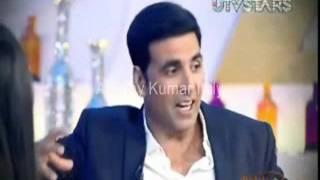 Akshay Kumar at Preity Zinta show