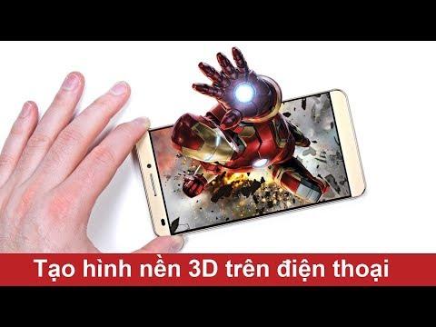 Cách Tạo Hình Nền 3D Cho điện Thoại Android