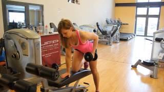 Total Arm Workout - Straffe Arme / Обучение армия для женщин