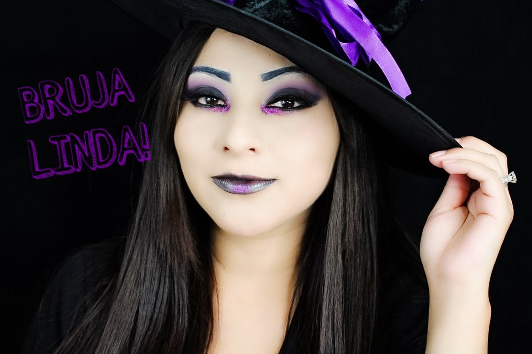 maquillaje de bruja linda halloween ideas youtube - Maquillaje Bruja