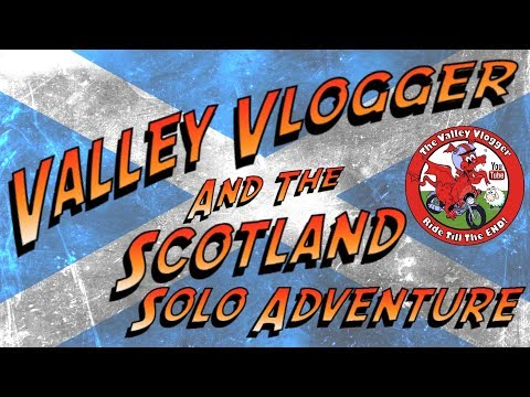 The Scotland Solo Adventure....  Day 1 Getting There  (412 miles)