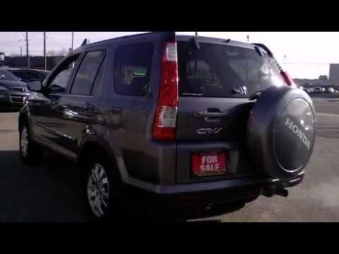 In Toronto - 2005 Honda CR-V EX-L Leather Sunroof 16Alloys SUV - YouTube