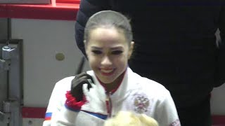 Alina Zagitova GP Helsinki 2018 FS FULL Practice A1