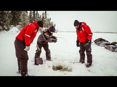 Leurre Juste S06E02 - Pêche blanche dans le Nord du Québec.