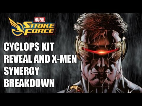 CYCLOPS KIT REVEAL! - Includes Breakdown of Synergies for X-Men - Marvel  Strike Force