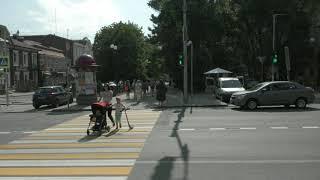 После моего обращения на улице Пушкинской/Соколова сделали пешеходный переход и поставили светофор