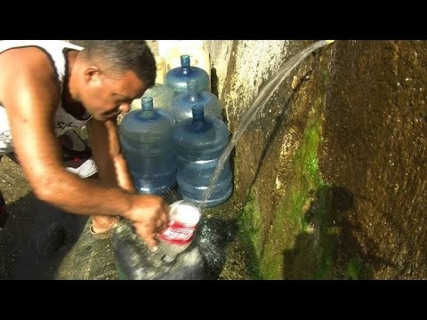 Drought. aging infrastructure increase water value in Caracas