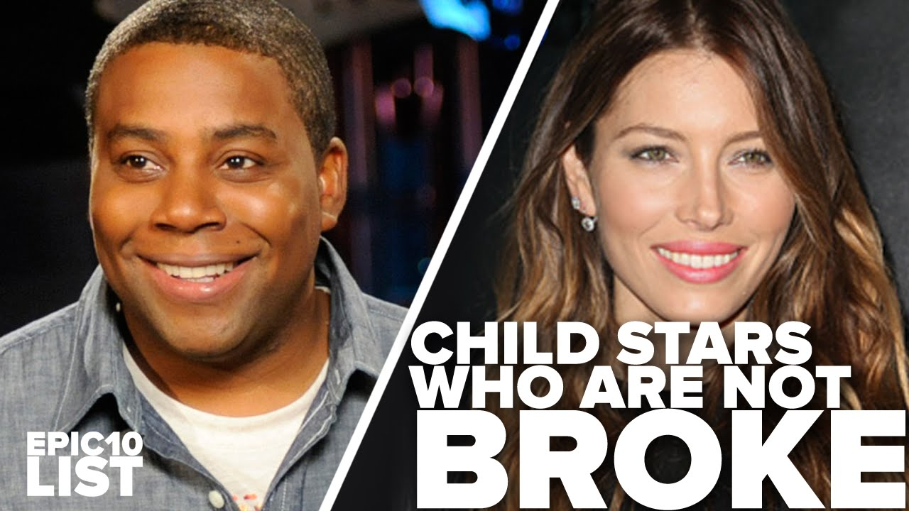 10 CHILD STARS Who Are Not BROKE