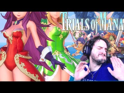 LE MEILLEUR REMAKE DU MONDE !!! -Trials of Mana DEMO- Facetime avec Bob Lennon