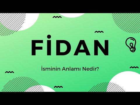 Fidan Isminin Anlami Nedir Youtube
