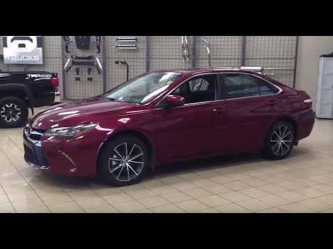 2017 Toyota Camry XSE Review