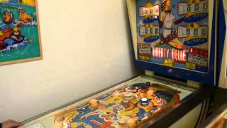 PARIS PINBALL MUSEUM - 60's & 70's 4 PLAYERS PINBALLS, GOTTLIEB & WILLIAMS