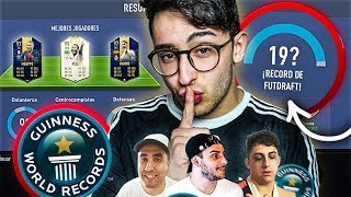 EL FUT DRAFT RECORD de YOUTUBE!!! ÍNCREÍBLE!!