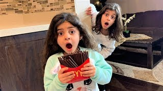 Johnny Johny Nursery Rhymes song - Chocolate Food !